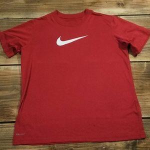 Nike (M) Boys Red Dri-Fit Tshirt